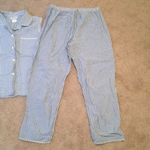 8d75caa2ce95 Character Intimates   Sleepwear - 100% Cotton Cute Blue Plaid PJ s